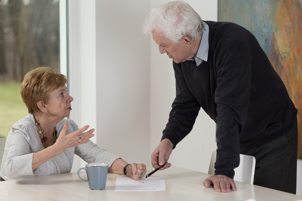 Husband wants to get the divorce with elder woman